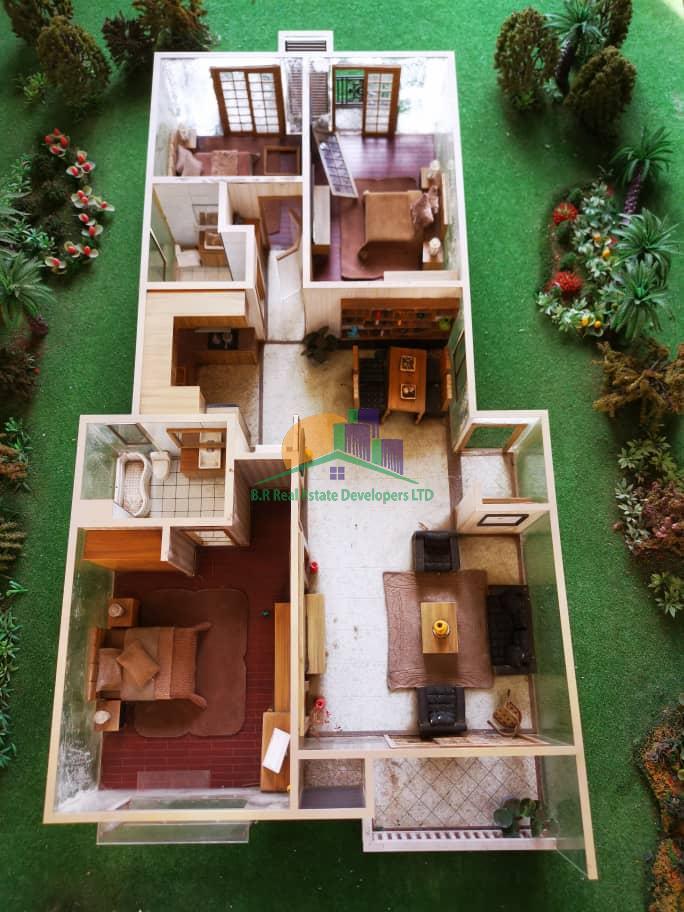 dream glory apartment, oysterbay, dar es salaam, tanzania floor plan, br real estate I