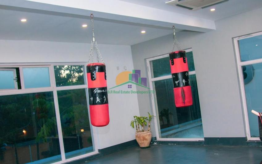 Apartments For Rent at Oyster bay In Dar es Salaam gym VIII