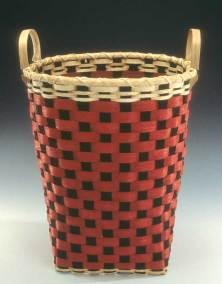 Checkerboard Bushel Basket