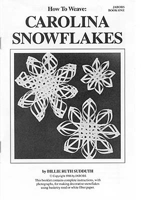 Photo of the cover of How to Make Carolina Snowflakes Book