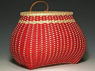 Photo of Billie Ruth Sudduth's MIss Scarlett basket