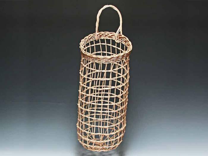 Potato Onion Basket in Walnut by Billie Ruth Sudduth