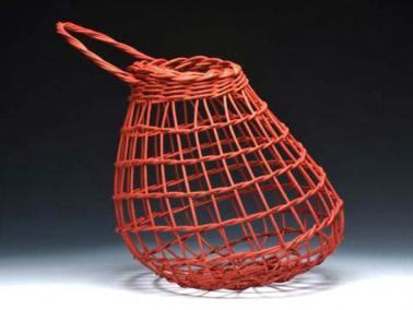 Red Onion Basket by Billie Ruth Sudduth