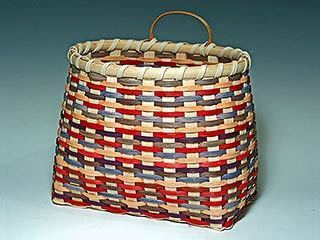 Photo of Billie Ruth Sudduth's Victorian Wall Basket