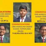 Class 10 School topper 2019