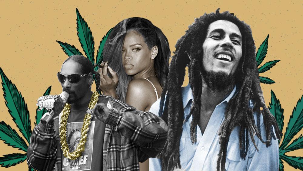 Músicos legendarios defensores de la marihuana