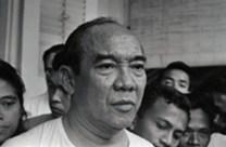 Portrait of Achmed Sukarno