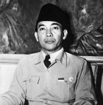 President Sukarno of Bativia