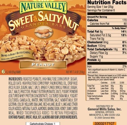 NV Granola Bar Sweet and Salty Nut Peanut 107 ashx