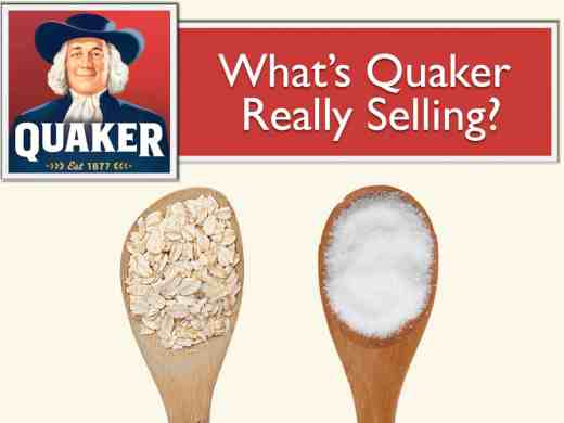What's Quaker Really Selling