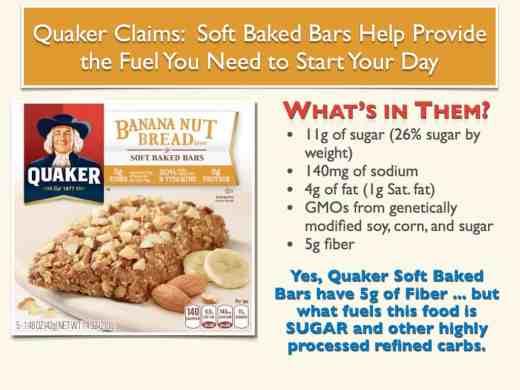 Quaker Soft Baked Bars