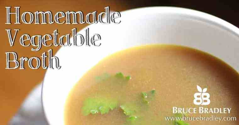 Homemade Vegetable Broth is a delicious, economical way to add flavor to your recipes