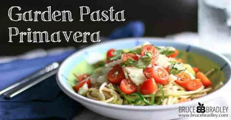 Bruce Bradley's spiral twist on the classic Pasta Primavera!