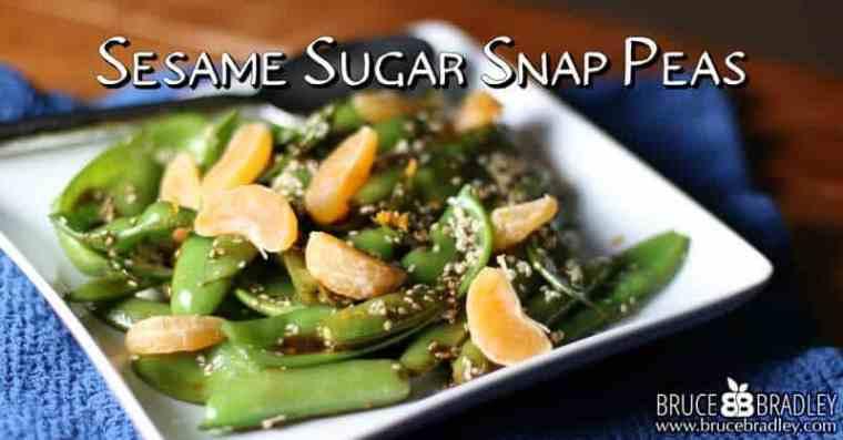 Sesame Sugar Snap Pea Recipe