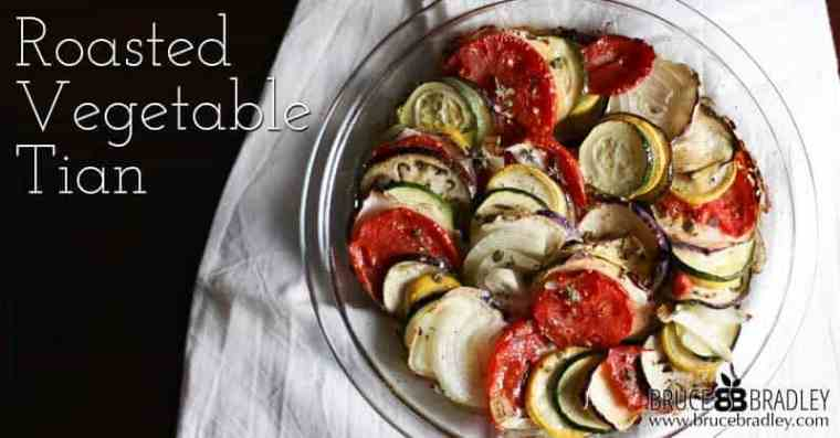 Roasted Vegetable Tians are a delicious, simple way to enjoy the goodness of roasted veggies!