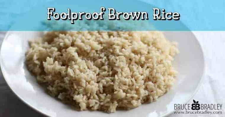 Tired of mushy brown rice? Here's the perfect, foolproof recipe for firm, delicious brown rice!