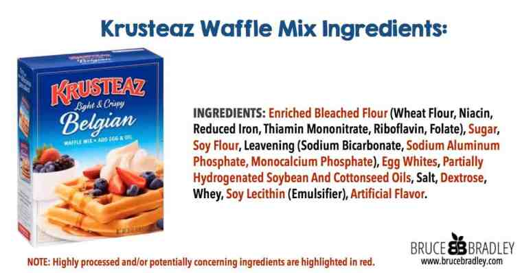 Are frozen waffles healthy? Most frozen waffle brands, like Eggo, contain tons of processed ingredients and aren't good for you!