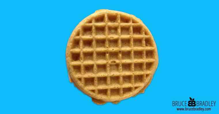 What's in your waffle? Is it healthy? Unfortunately it's probably not!