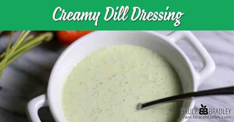 When you're looking to dress up a salad, fish, or veggies, try this delicious Creamy Dill Dressing. It's simply amazing and comes together in 5 minutes or less!