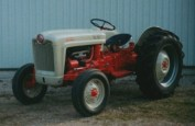 2003 1953 - Ford Jubliee tractor Winner - Dick Tenhove, Carrying Place, ON