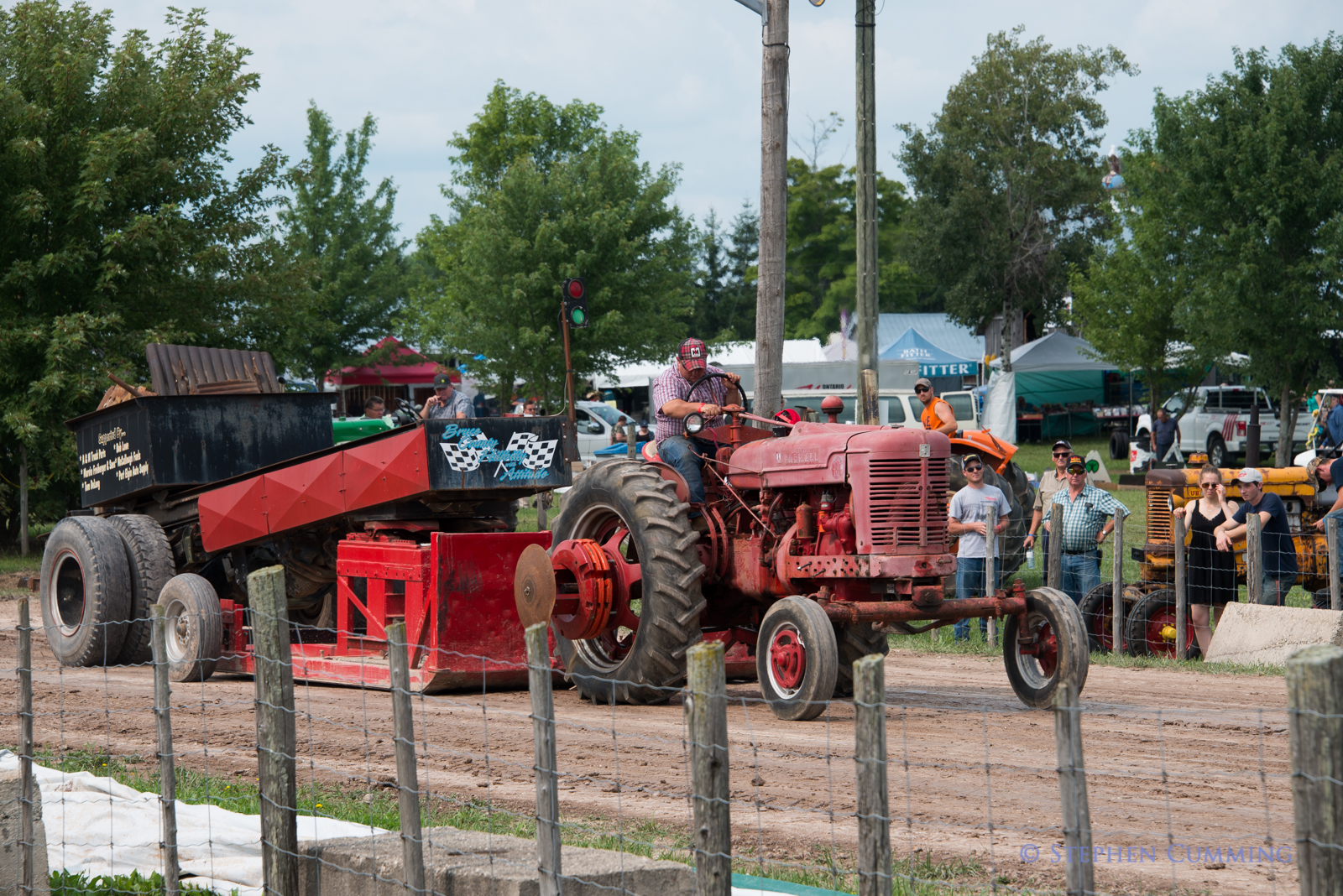 All Colours Antique Tractor Pull – Bruce County Heritage