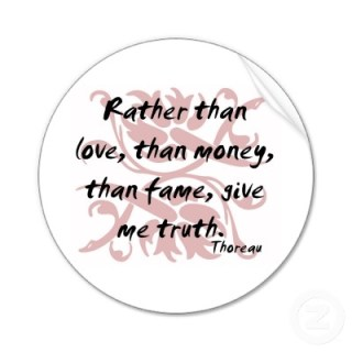 rather than love truth
