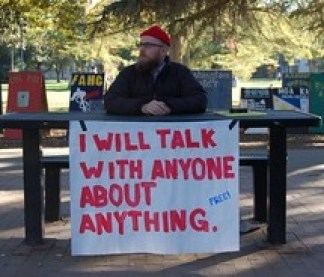 i will talk about anything