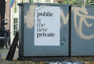 transparency public is the new private