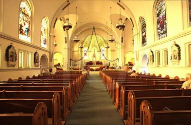 Catholic C hurchInteriorCapeMayNJ