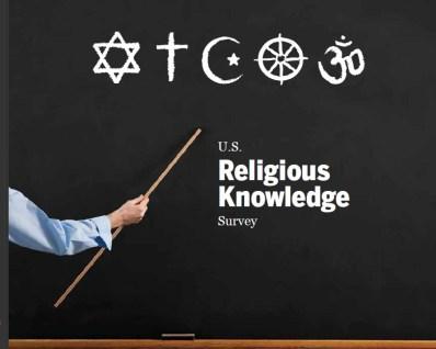 pew religion survey all