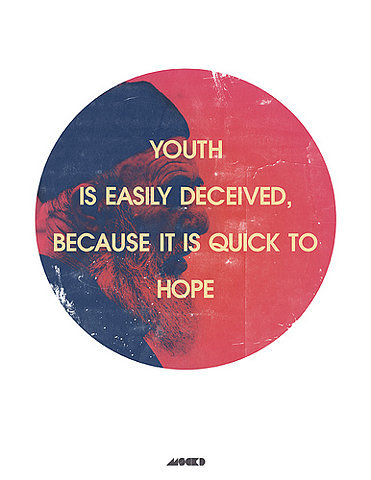 youth is easily deceived