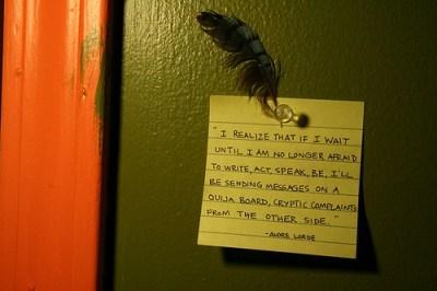 wait until i am no longer afraid