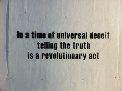 truth revolution