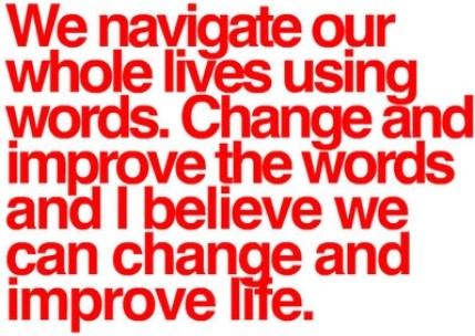 words navigate life