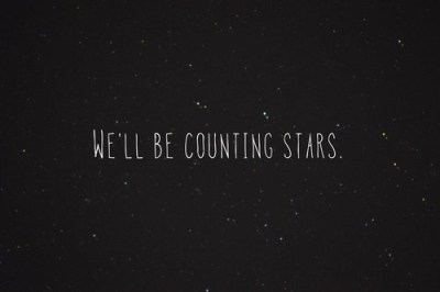 counting stars we will