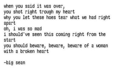 big sean lyrics