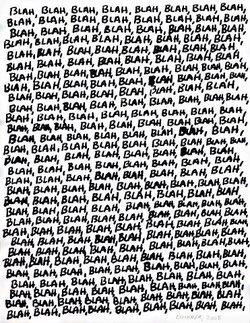 blah page