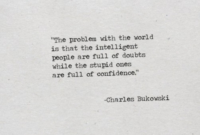 smart people and doubt