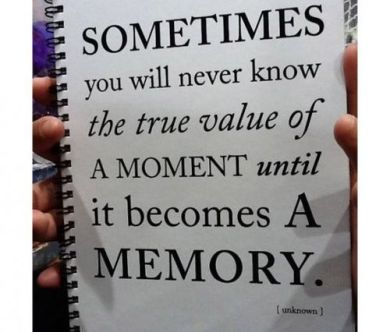 moment memory value