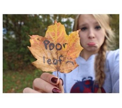 being dead leaf