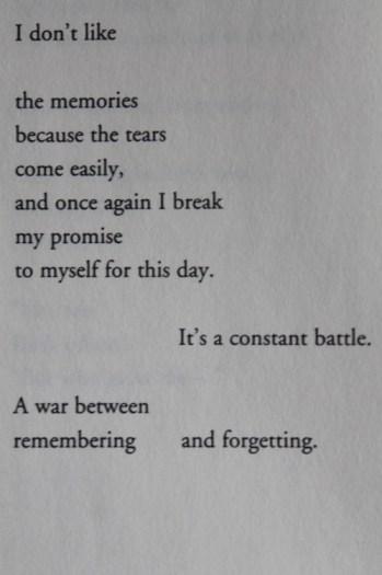 remember forget battle