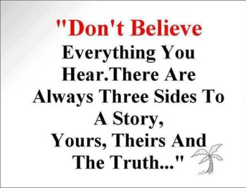 believe yours theirs truth
