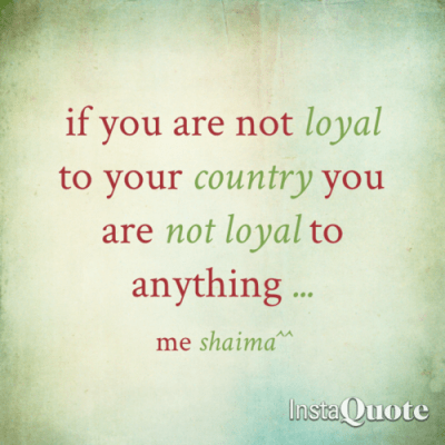 countries ideas loyalty
