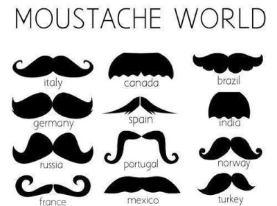 countries ideas mustaches