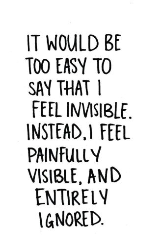 invisible painful