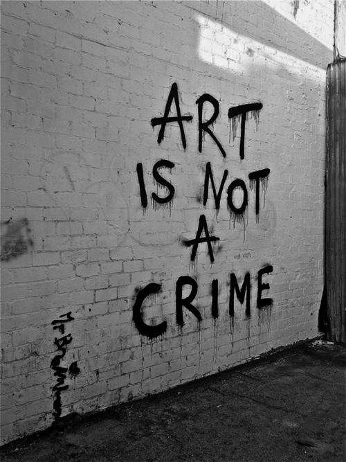 graffiti art not a crime