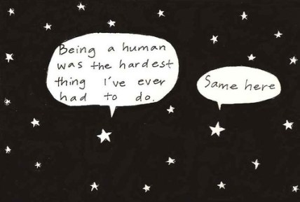 stars and shrinking human