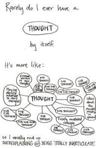 thinking multiple thoughts