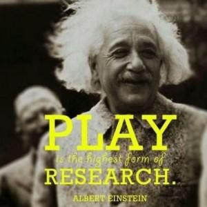 research play einstein