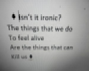 alive can kill us